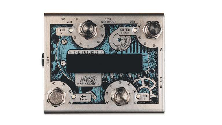 Matthews Effects Releases the Futurist MIDI Controller