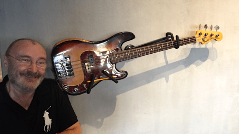 Phil Collins Purchases Famed 1968 Fender Precision Used By Bob Babbitt