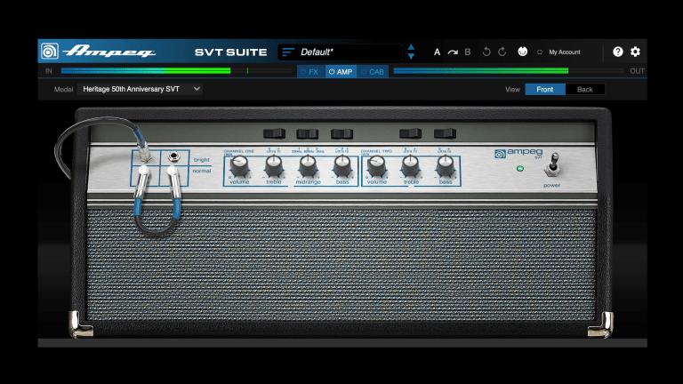 Ampeg Launches SVT Suite Plugin