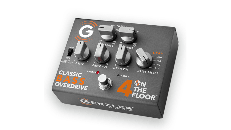 Genzler Amplification Introduces the 4 on the Floor Bass Overdrive