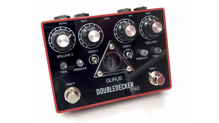 Gurus Releases the Doubledecker MkII Overdrive Pedal