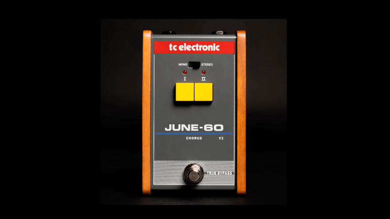 TC Electronic Releases the JUNE-60 V2 Chorus Pedal