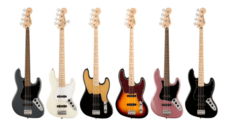 Squier Unveils New Paranormal and Affinity Series Basses