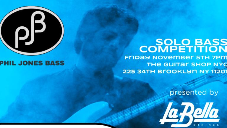 Phil Jones Bass Announces 2021 Solo Bass Competition