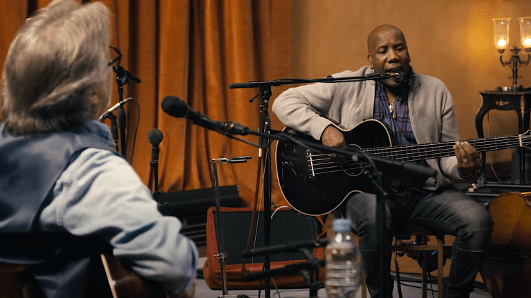 """Eric Clapton to Release """"The Lady in the Balcony: Lockdown Sessions"""" with Nathan East on Bass"""