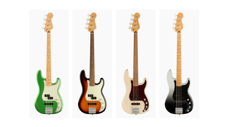 Fender Releases New Player Plus Series Basses