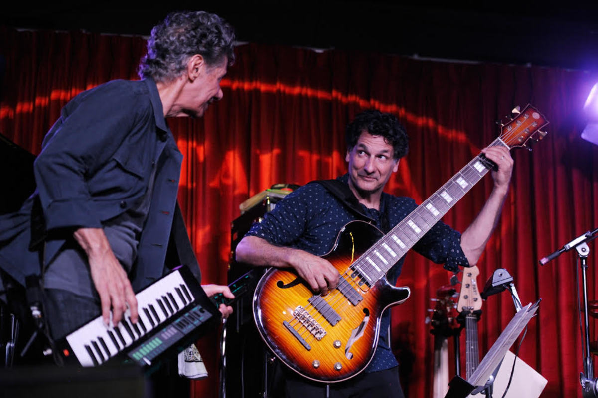 John with Chick Corea