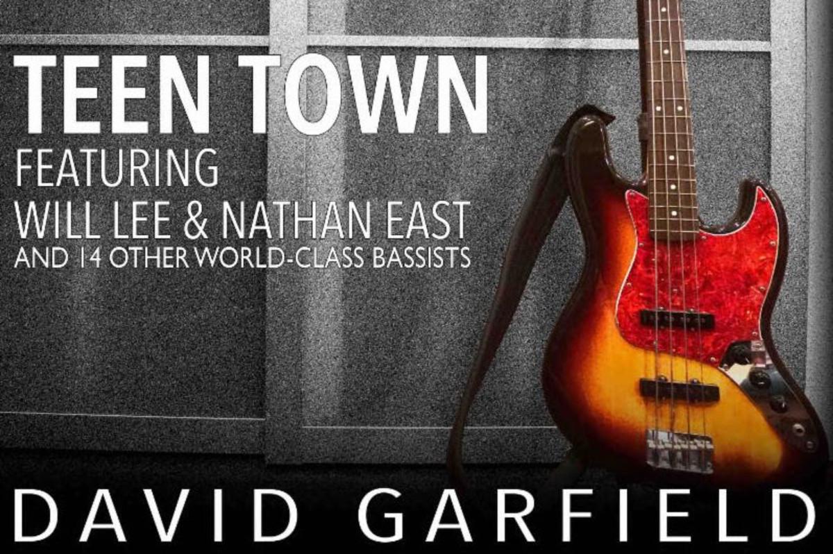 "16 World Class Bassists play ""Teen Town"" on David Garfield's New Record"