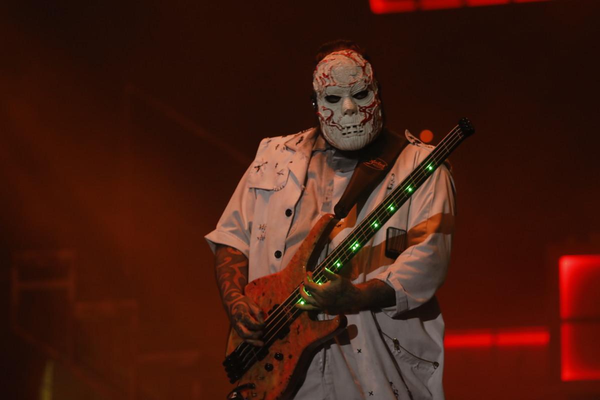 """Alessandro """"Vman"""" Venturella of Slipknot"""