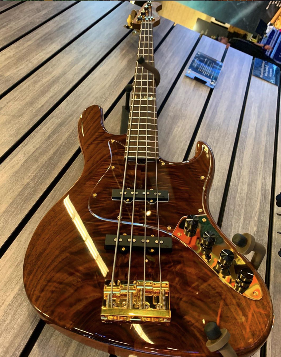A Sadowsky NYC Custom Shop Will Lee Bass.