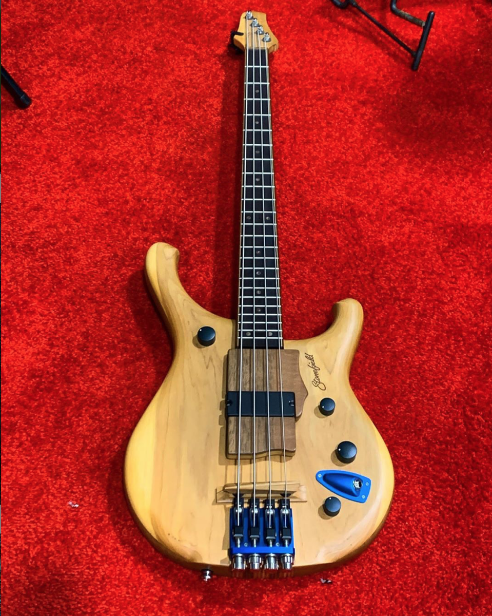 A Stonefield M Series 4-string.