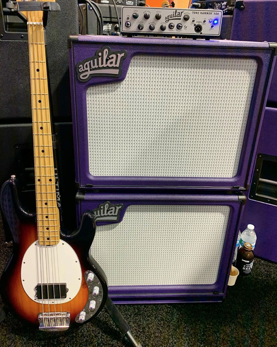 Aguilar's Limited Edition Custom Amp color for 2020