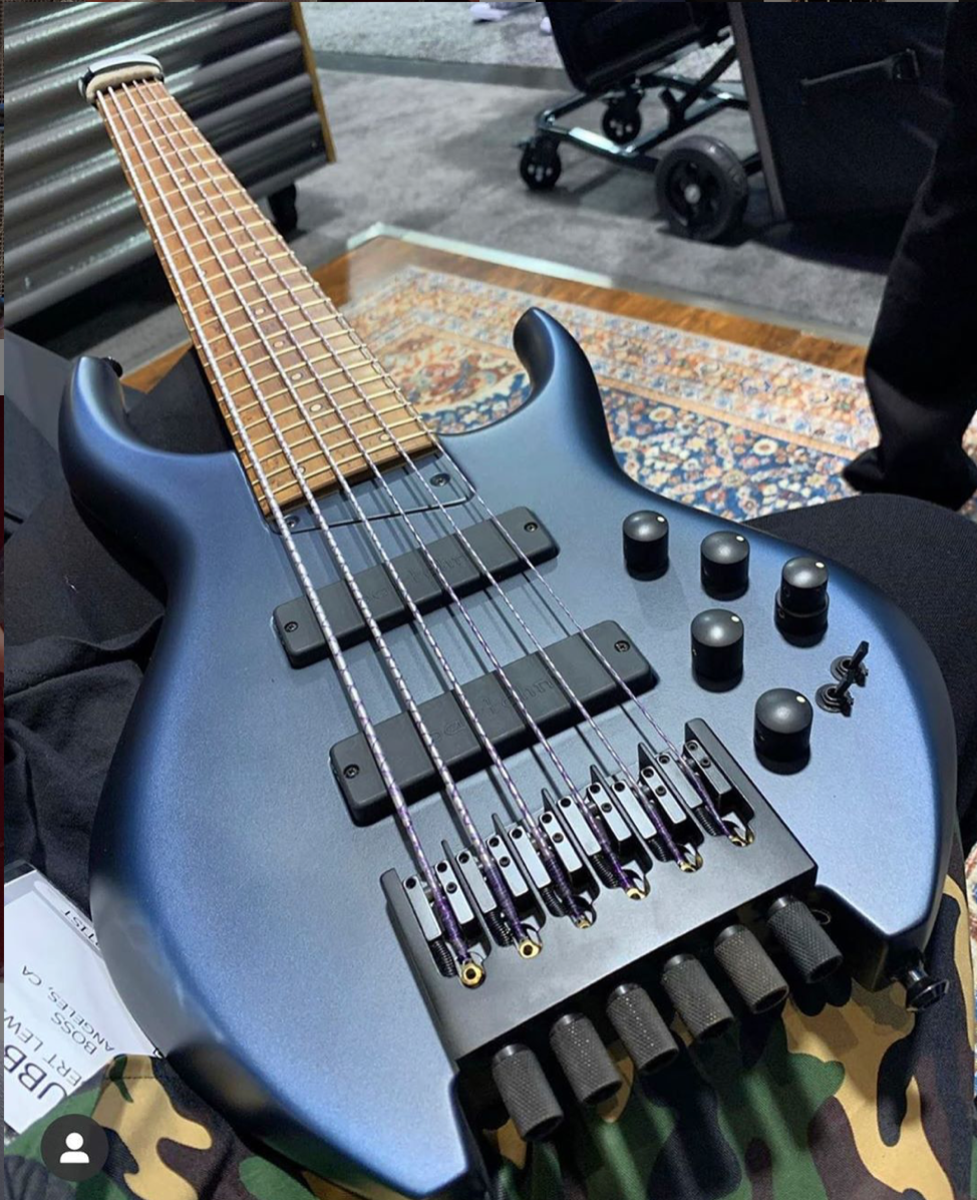 MTD's new Bubby Lewis H35D6 Signature Bass.