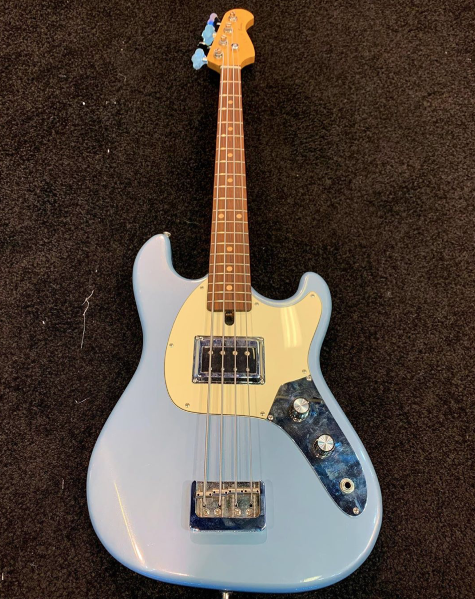 The newest creation from D. Larkin Basses.