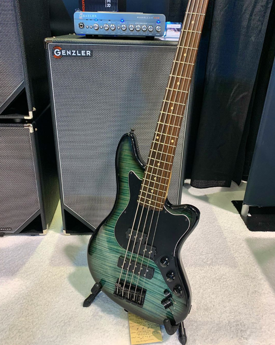 L.e.H. Basses and Genzler Amps are a match made in bass heaven.
