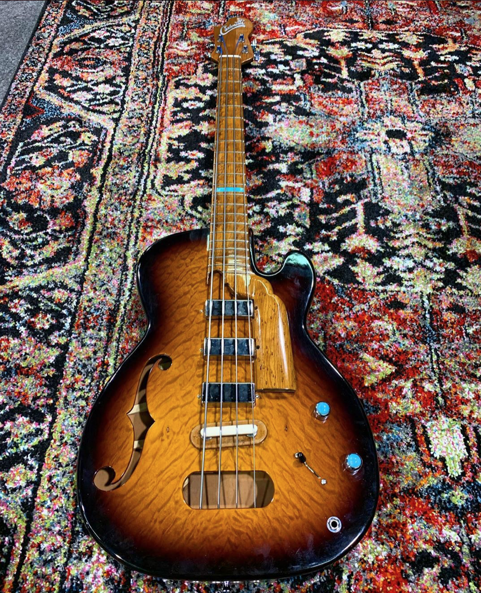 Photos don't do justice to this Carbonetti Handmade Bass.
