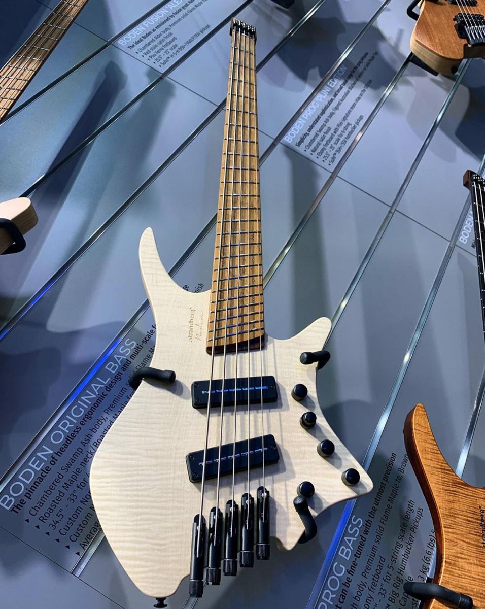 The Strandberg Boden Bass 5-string.
