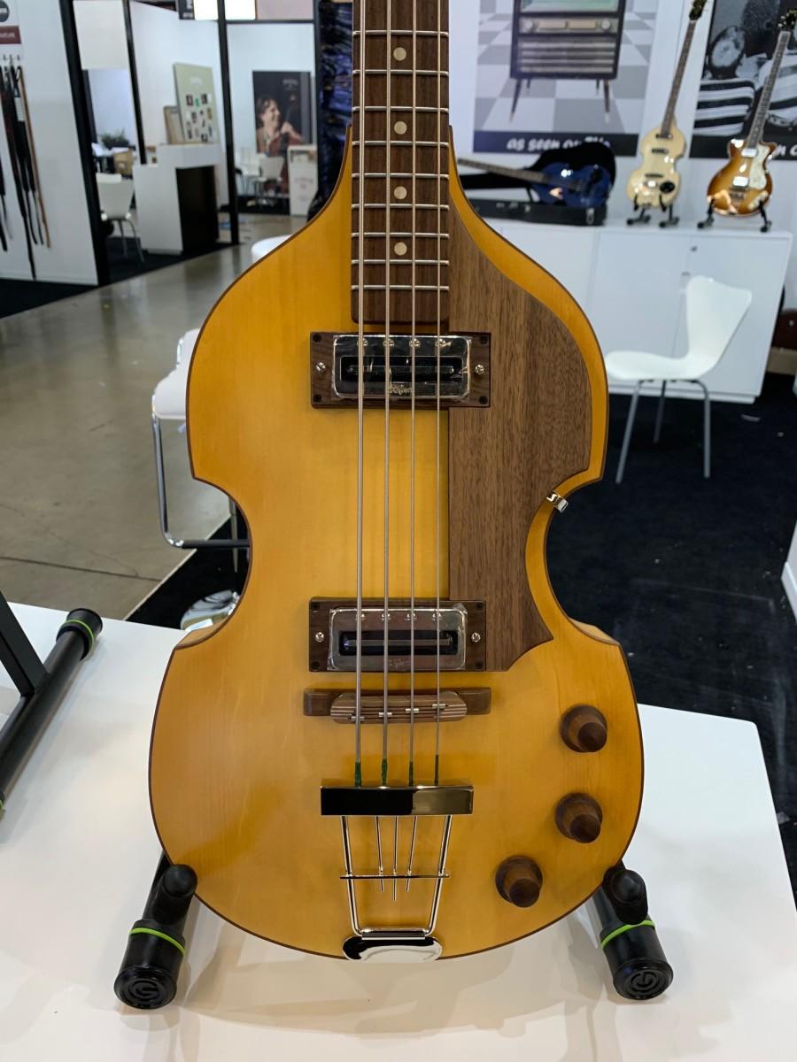 A Hofner 500/1 bass.