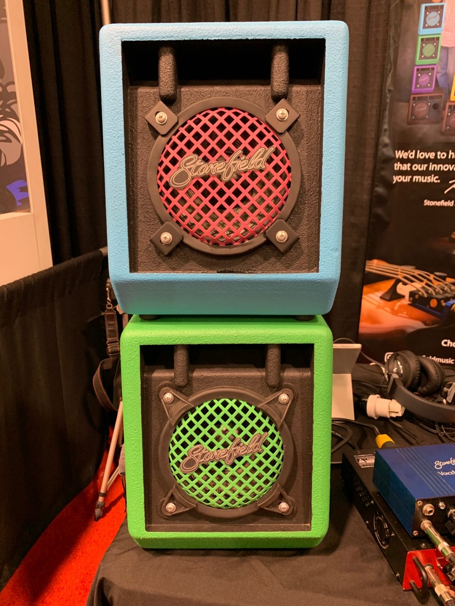 You won't find any other amps colored as uniquely as Stonefield's. Trust us, we looked.