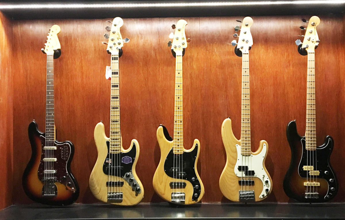 Beck's bass collection