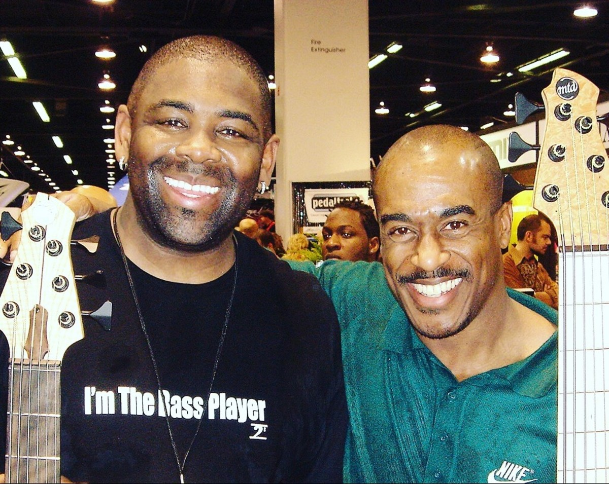 Joel and Gouche at NAMM 01