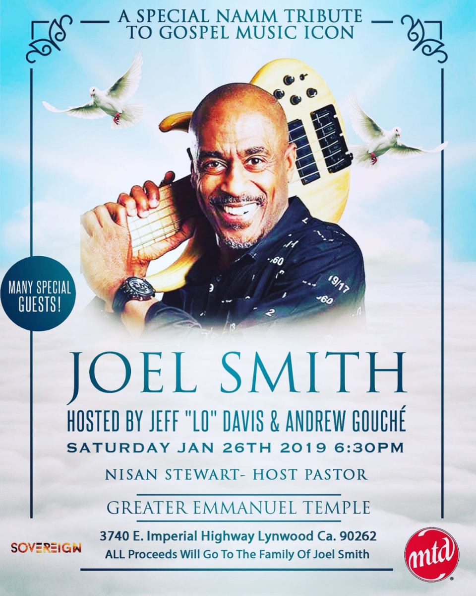 Joel Smith Celebration Jan 26 2019