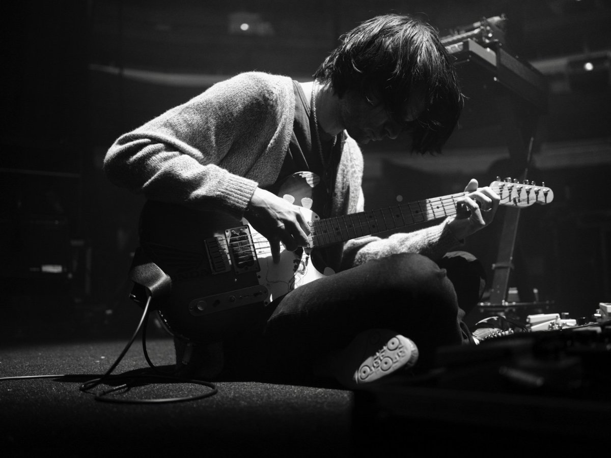 Jonny Greenwood. Photographed by Colin