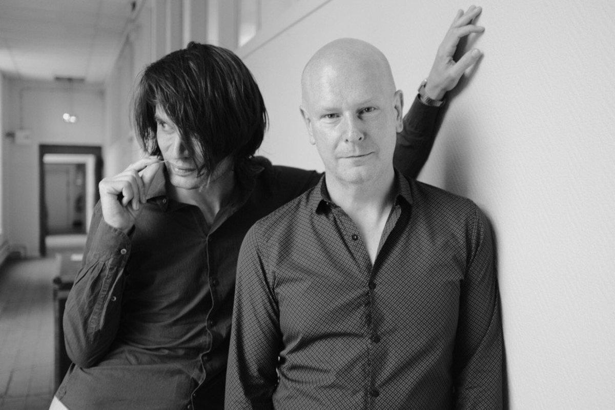 Jonny Greenwood and drummer Phil Selway