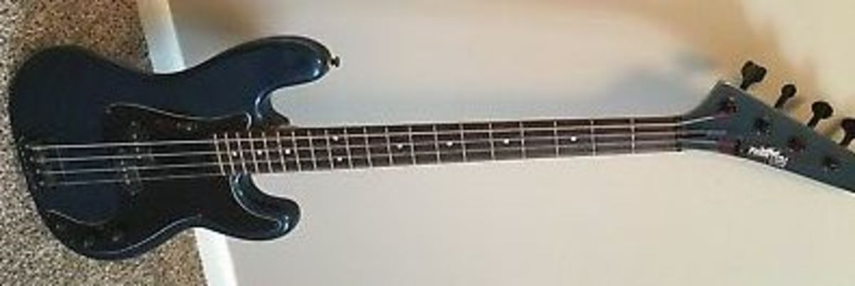 A 1980's Phantom P-Bass