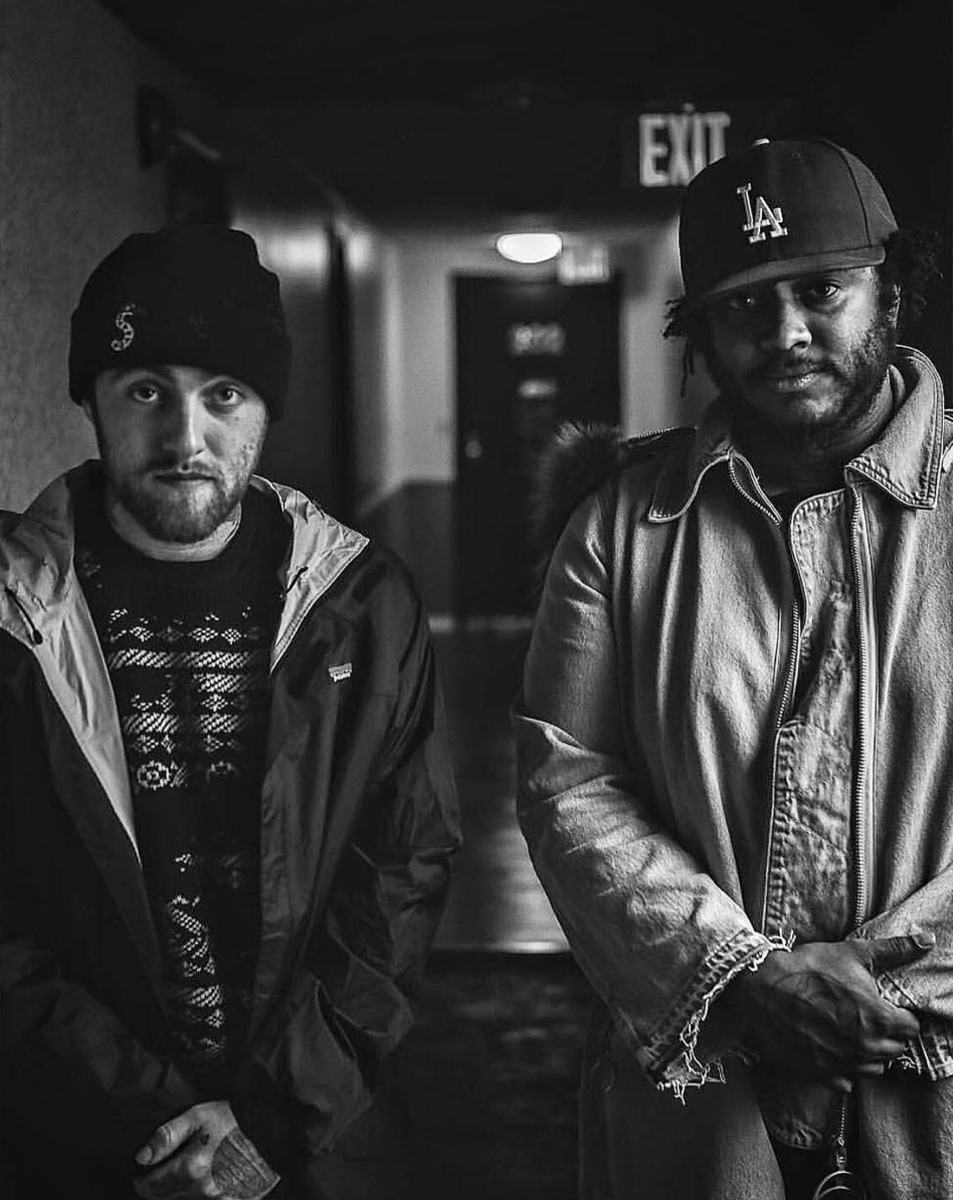 With Mac Miller (@thundercatmusic)