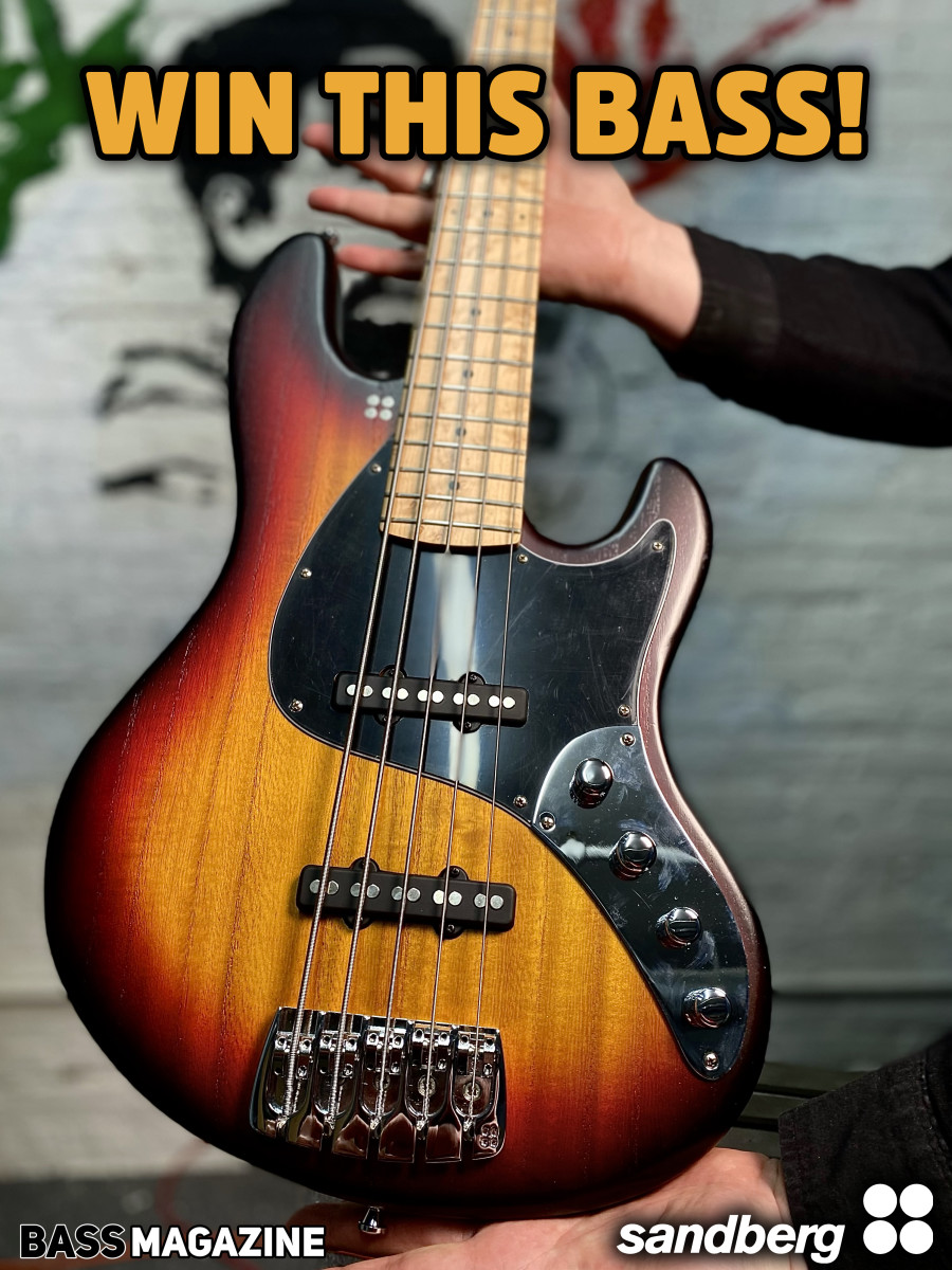 Sandberg Bass Giveaway