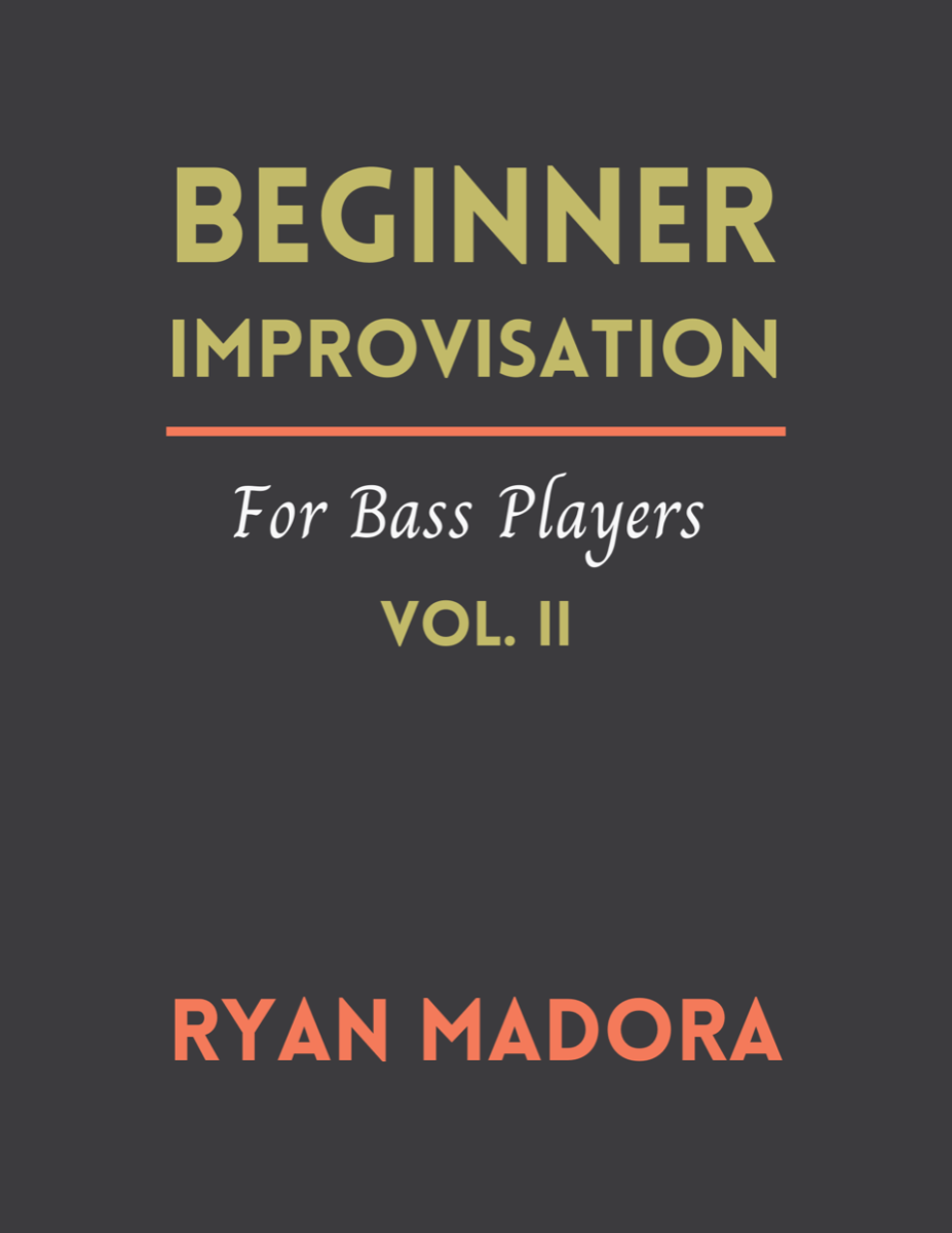 Beginner Improvisation For Bass Players-Vol2