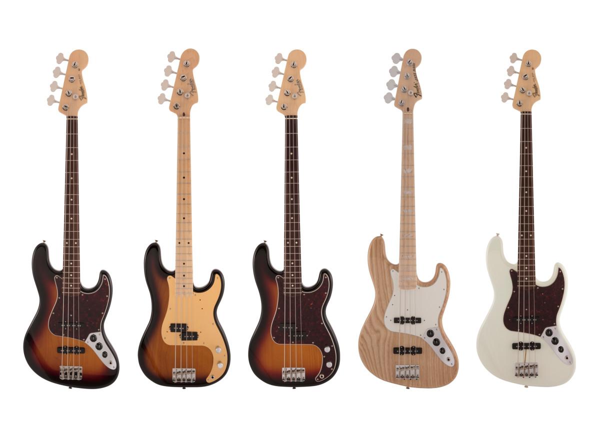 Fender New Basses