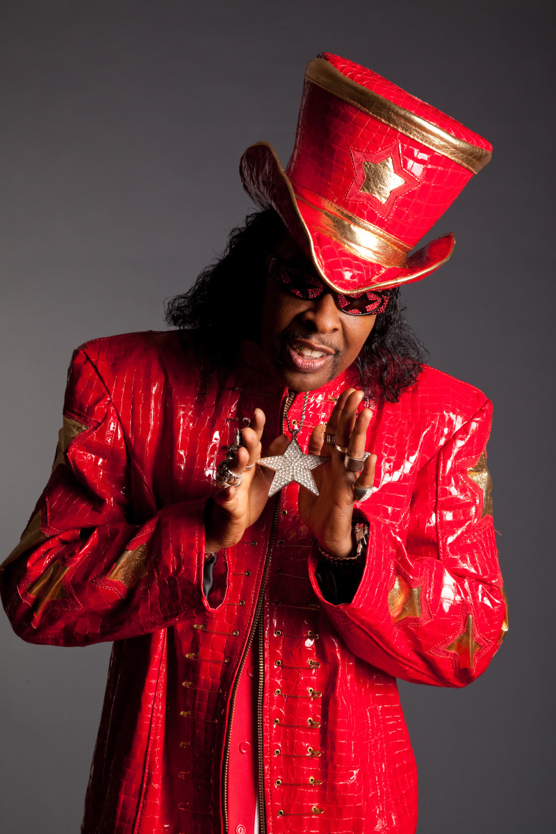 Bootsy Collins by Michael Weintrob Photography