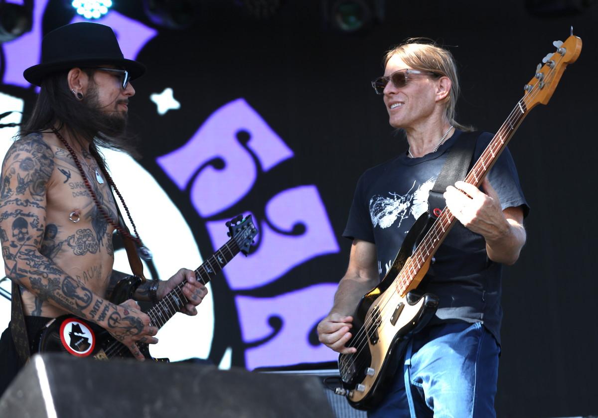 Dave Navarro and Chris Chaney