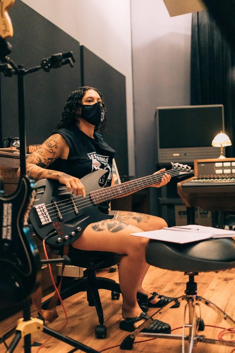 Lira in the studio