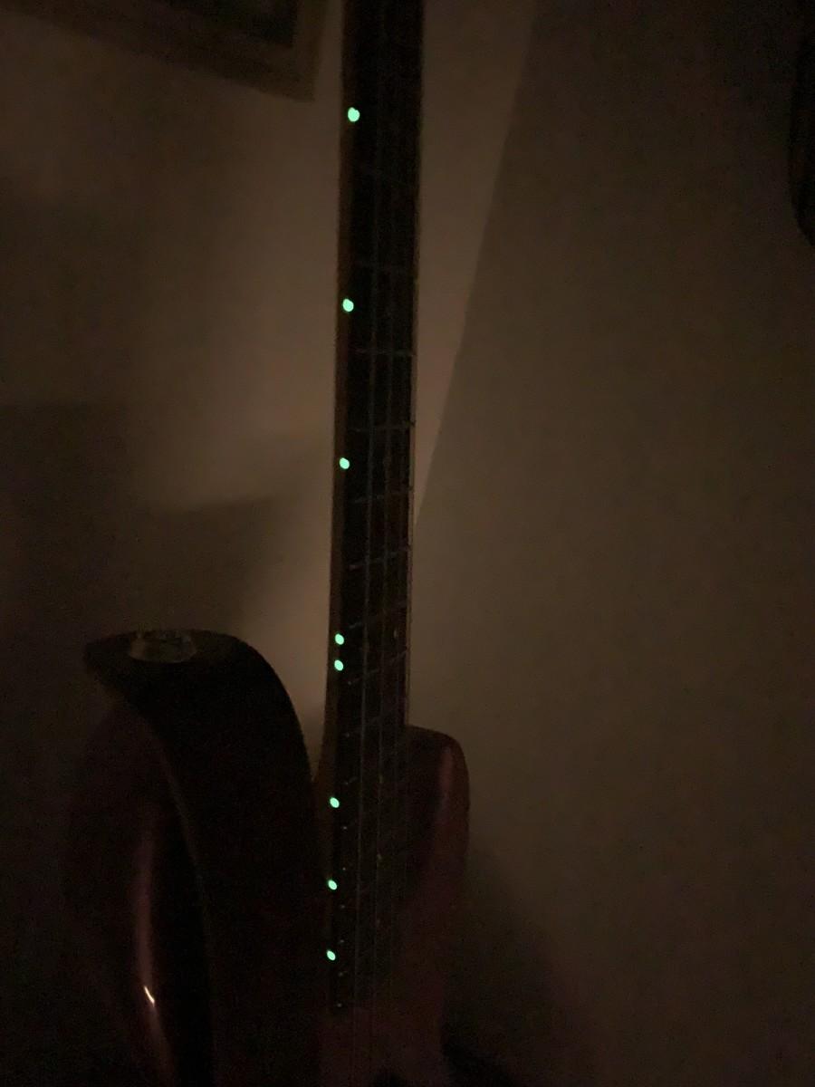Luminescent Side Dots