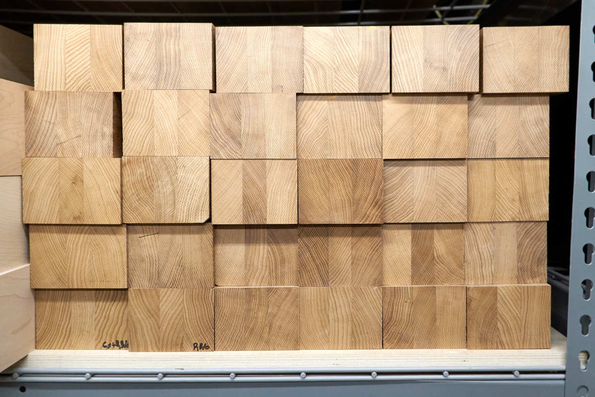 Three Piece Roasted Maple Neck Blanks