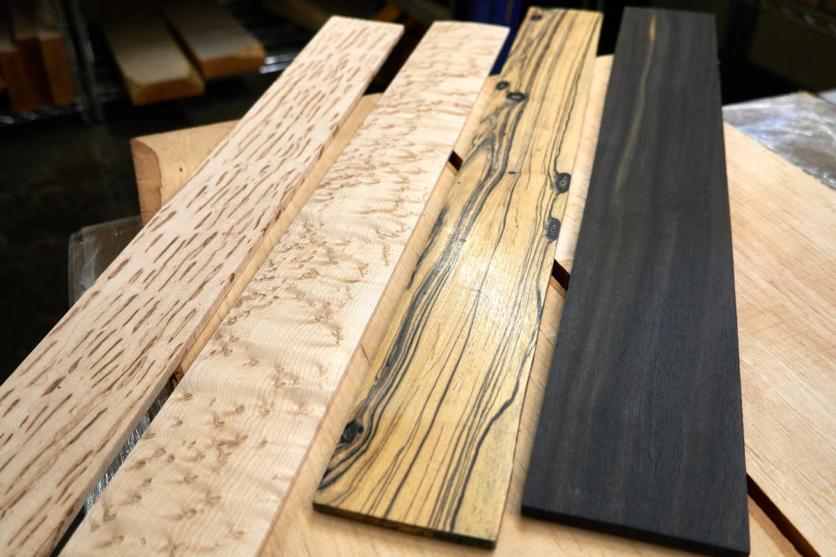 Fingerboard Woods