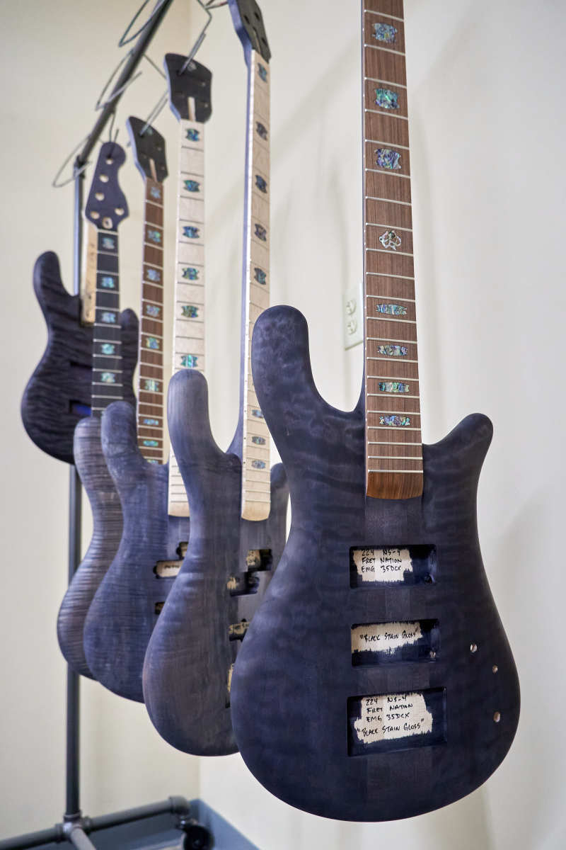 Stained Basses